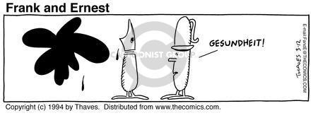 Comic Strip Bob Thaves Tom Thaves  Frank and Ernest 1994-03-12 utensil