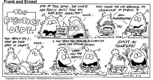Comic Strip Bob Thaves Tom Thaves  Frank and Ernest 1994-03-13 embarrass