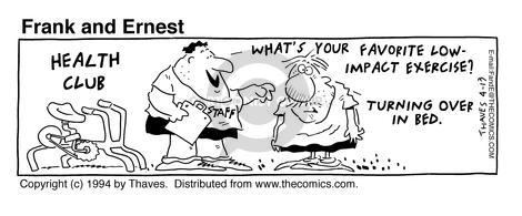 Comic Strip Bob Thaves Tom Thaves  Frank and Ernest 1994-04-13 staff