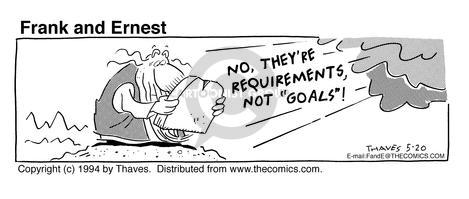Comic Strip Bob Thaves Tom Thaves  Frank and Ernest 1994-05-20 cloud