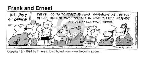 Comic Strip Bob Thaves Tom Thaves  Frank and Ernest 1994-06-07 period