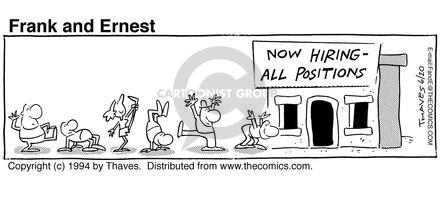 Comic Strip Bob Thaves Tom Thaves  Frank and Ernest 1994-06-20 employ