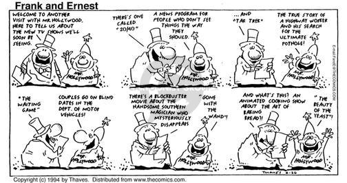 Comic Strip Bob Thaves Tom Thaves  Frank and Ernest 1994-06-26 dmv