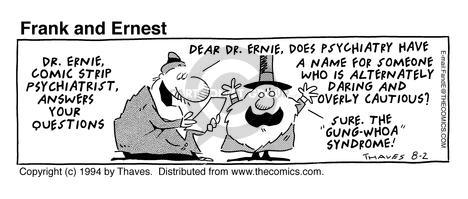 Comic Strip Bob Thaves Tom Thaves  Frank and Ernest 1994-08-02 alternate