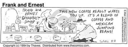 Comic Strip Bob Thaves Tom Thaves  Frank and Ernest 1994-08-08 short