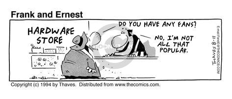 Comic Strip Bob Thaves Tom Thaves  Frank and Ernest 1994-08-11 hardware store