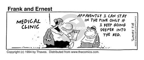 Comic Strip Bob Thaves Tom Thaves  Frank and Ernest 1994-09-28 going