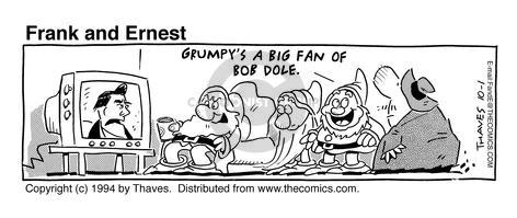 Comic Strip Bob Thaves Tom Thaves  Frank and Ernest 1994-10-01 live