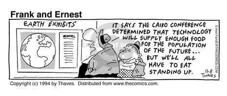 Comic Strip Bob Thaves Tom Thaves  Frank and Ernest 1994-11-08 future technology