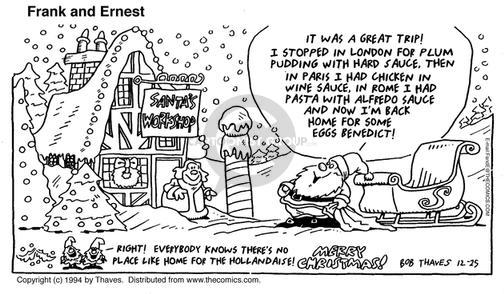 Comic Strip Bob Thaves Tom Thaves  Frank and Ernest 1994-12-11 lifestyle
