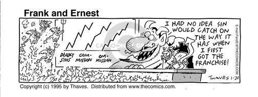 Comic Strip Bob Thaves Tom Thaves  Frank and Ernest 1995-01-20 ruler