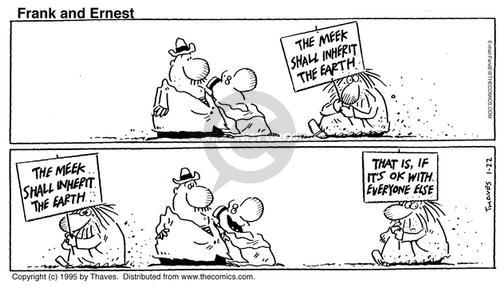 Comic Strip Bob Thaves Tom Thaves  Frank and Ernest 1995-01-22 earth