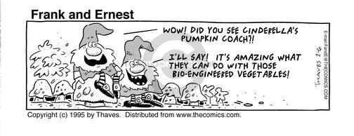 Comic Strip Bob Thaves Tom Thaves  Frank and Ernest 1995-02-06 mushroom