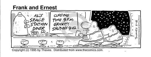 Closing time 9pm. Gravity shut off 9;02.