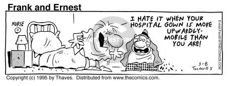 Comic Strip Bob Thaves Tom Thaves  Frank and Ernest 1995-03-08 clothes