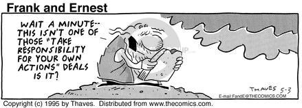 Comic Strip Bob Thaves Tom Thaves  Frank and Ernest 1995-05-03 complex