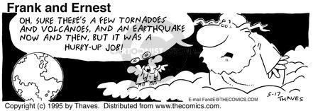 Comic Strip Bob Thaves Tom Thaves  Frank and Ernest 1995-05-17 earth