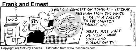 Comic Strip Bob Thaves Tom Thaves  Frank and Ernest 1995-05-24 government program