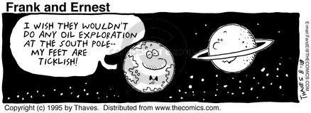 Cartoonist Bob Thaves Tom Thaves  Frank and Ernest 1995-08-18 star