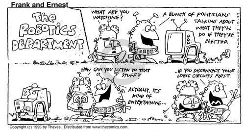 Comic Strip Bob Thaves Tom Thaves  Frank and Ernest 1995-10-29 government program