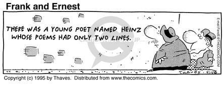 Comic Strip Bob Thaves Tom Thaves  Frank and Ernest 1995-11-16 effort