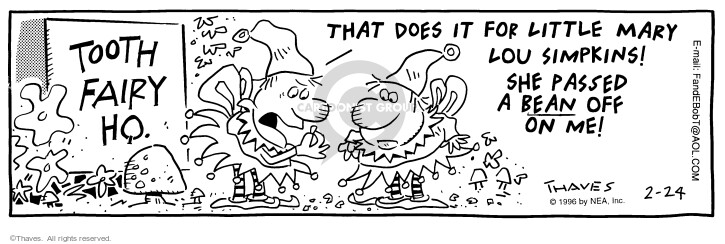 Comic Strip Bob Thaves Tom Thaves  Frank and Ernest 1996-02-24 deceive