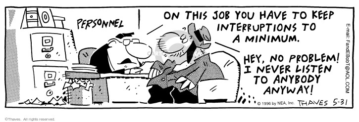 Comic Strip Bob Thaves Tom Thaves  Frank and Ernest 1996-05-31 administrator