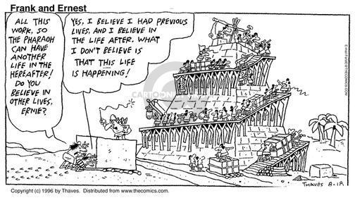 Comic Strip Bob Thaves Tom Thaves  Frank and Ernest 1996-08-18 ruler