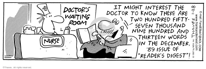 Comic Strip Bob Thaves Tom Thaves  Frank and Ernest 1997-01-28 December