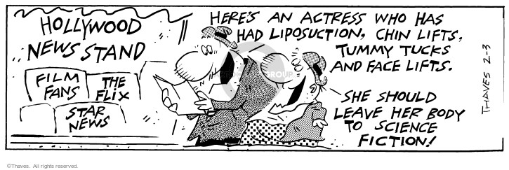 Comic Strip Bob Thaves Tom Thaves  Frank and Ernest 1997-02-03 fiction