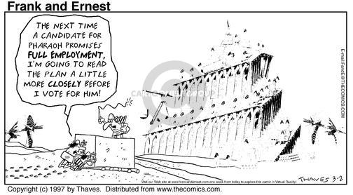 Comic Strip Bob Thaves Tom Thaves  Frank and Ernest 1997-03-02 candidate