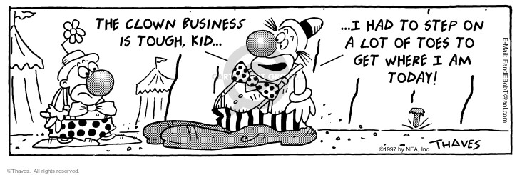 Comic Strip Bob Thaves Tom Thaves  Frank and Ernest 1997-05-09 today