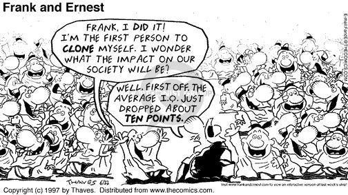 Comic Strip Bob Thaves Tom Thaves  Frank and Ernest 1997-06-22 drop it