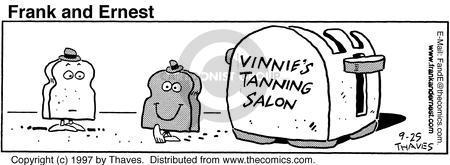 Comic Strip Bob Thaves Tom Thaves  Frank and Ernest 1997-09-25 slice
