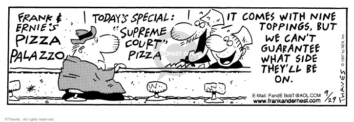 Comic Strip Bob Thaves Tom Thaves  Frank and Ernest 1997-09-29 customer