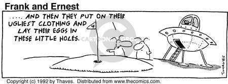 Comic Strip Bob Thaves Tom Thaves  Frank and Ernest 1997-11-08 craft