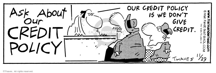 Comic Strip Bob Thaves Tom Thaves  Frank and Ernest 1997-11-29 customer