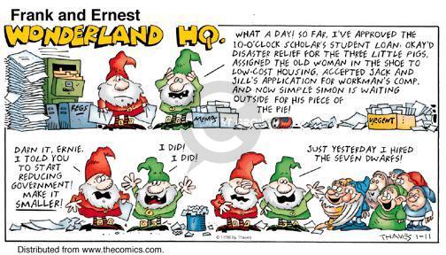 Comic Strip Bob Thaves Tom Thaves  Frank and Ernest 1998-01-11 Jack