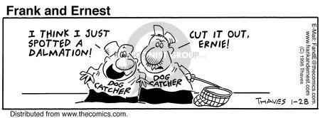 Comic Strip Bob Thaves Tom Thaves  Frank and Ernest 1998-01-28 Disney movie