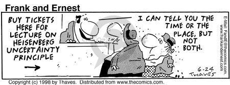 Comic Strip Bob Thaves Tom Thaves  Frank and Ernest 1998-06-24 university