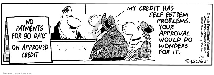 Comic Strip Bob Thaves Tom Thaves  Frank and Ernest 1998-07-11 approval