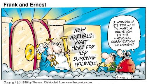 Cartoonist Bob Thaves Tom Thaves  Frank and Ernest 1998-07-19 pro