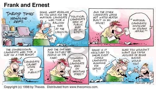 Comic Strip Bob Thaves Tom Thaves  Frank and Ernest 1998-09-13 department