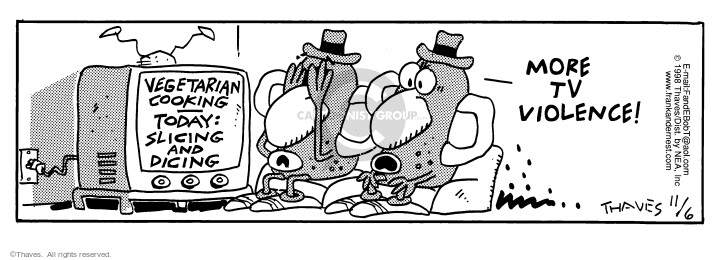 Comic Strip Bob Thaves Tom Thaves  Frank and Ernest 1998-11-06 potato