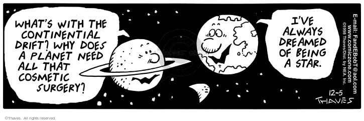 Cartoonist Bob Thaves Tom Thaves  Frank and Ernest 1998-12-05 star