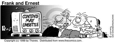 Comic Strip Bob Thaves Tom Thaves  Frank and Ernest 1999-01-21 program
