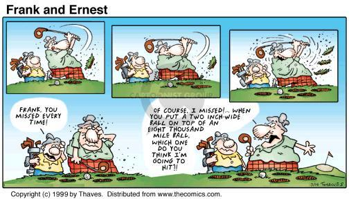 Comic Strip Bob Thaves Tom Thaves  Frank and Ernest 1999-03-14 small
