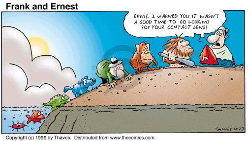 Comic Strip Bob Thaves Tom Thaves  Frank and Ernest 1999-06-27 change