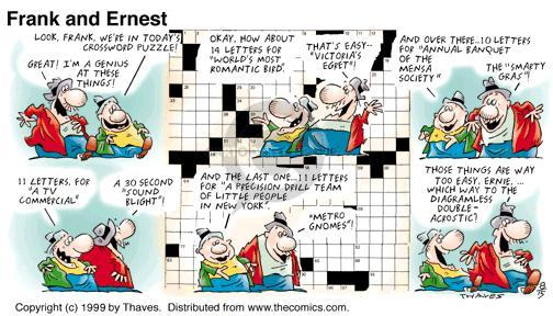 Comic Strip Bob Thaves Tom Thaves  Frank and Ernest 1999-08-15 precision
