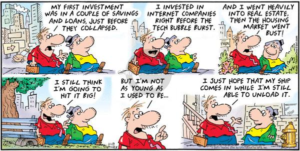 Comic Strip Bob Thaves Tom Thaves  Frank and Ernest 2011-11-13 high-tech